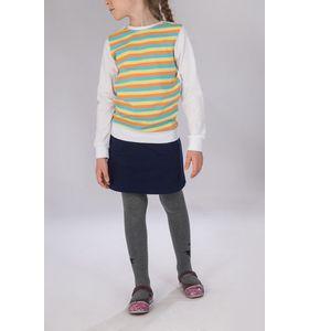 """Джемпер для девочки """"Полоска радуги"""" с длинным рукавом"""