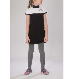"""Платье для девочки """"Вэнди"""" с воротником-стойкой"""