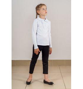"""Блузка школьная для девочки """"Ира"""" с жабо"""