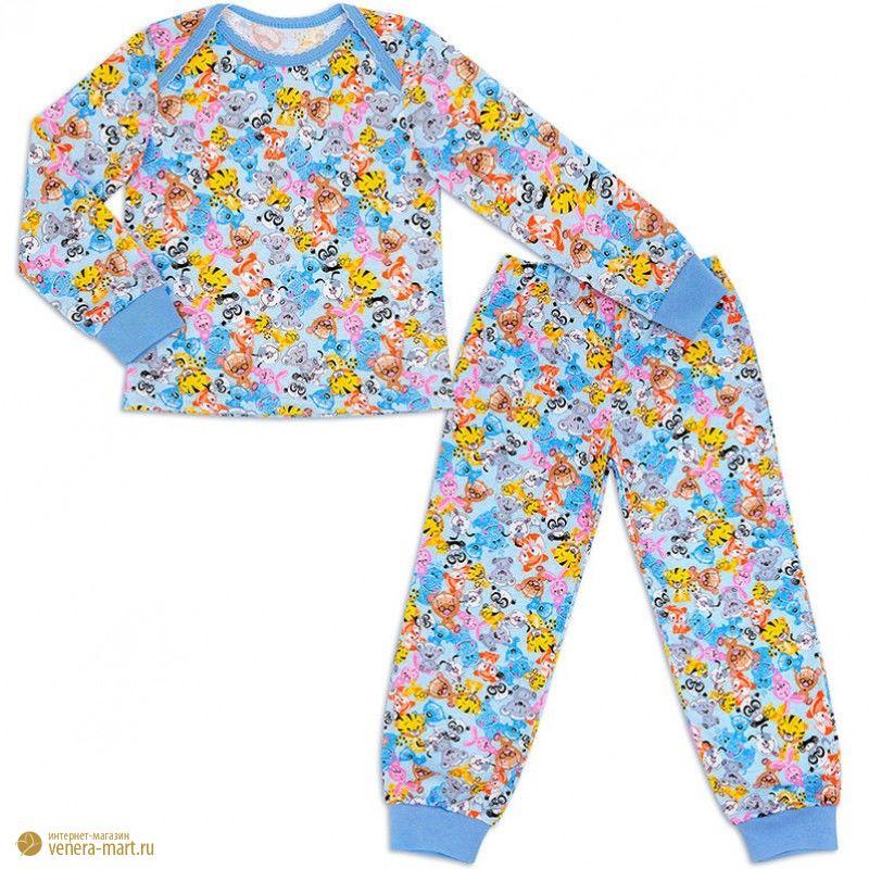 """Пижама для девочки """"Зверюшки"""""""