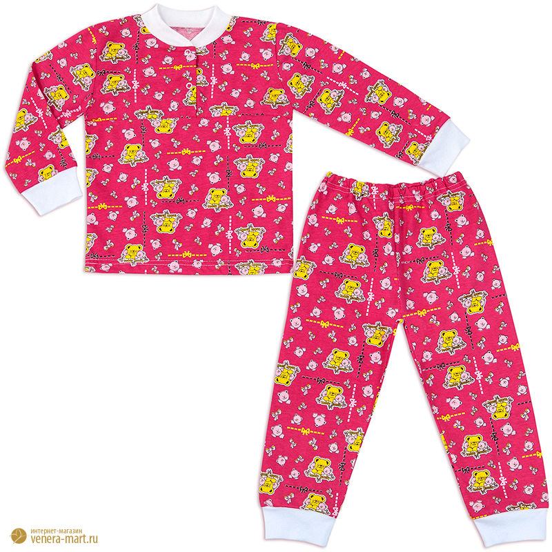 """Пижама для девочки """"Карусель"""""""